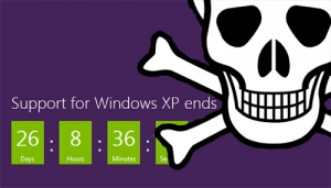 Windows XP OS will no longer be supported by Microsoft