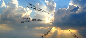 Clouds with sun breaking code