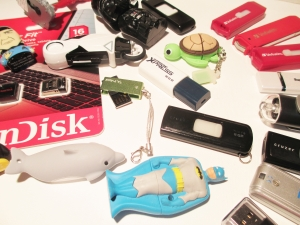 There is a wide variety of USB drives available, and as time goes on larger drives are becoming more affordable.